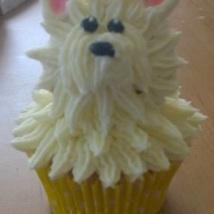 Westie Cupcakes