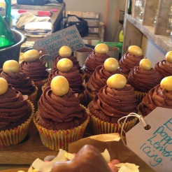 Easter Chocolate Orange Cupcakes