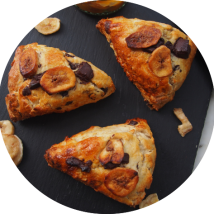 Chocolate and Banana Scones
