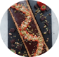 Chocolate, Strawberry and Pistachio Tart