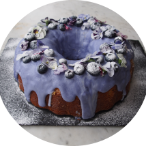 Lemon and Blueberry Bundt Cake