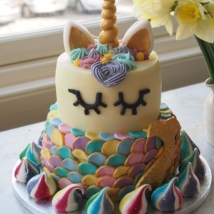 Unicorn Mermaid Cake